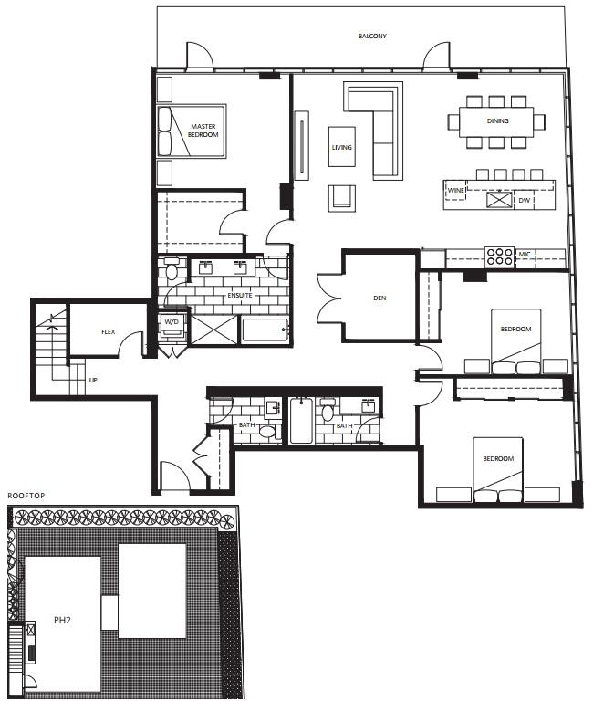 West Five penthouse Vancouver condos