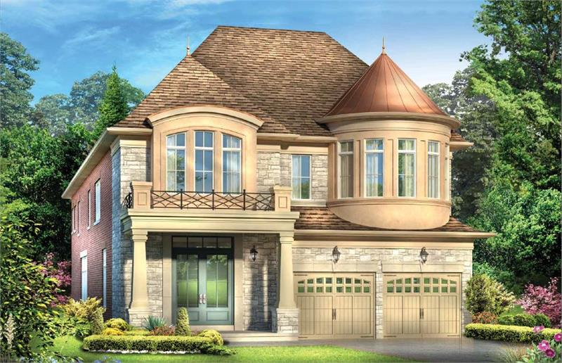 chateau rendering