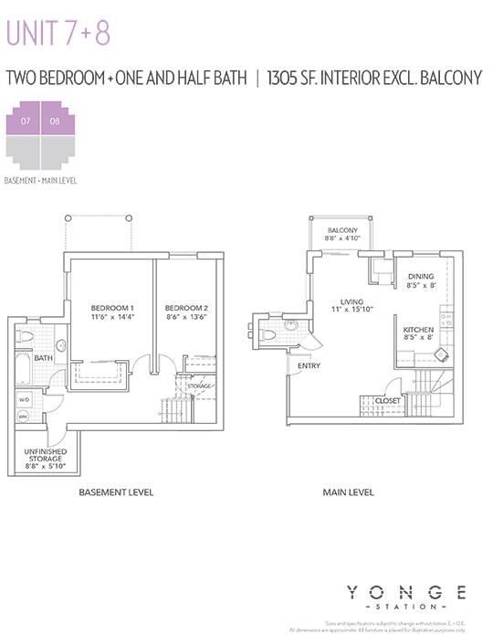 eight-plex floorplan