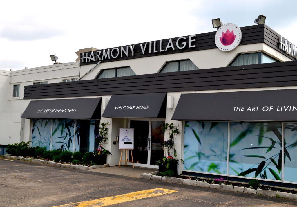 harmony village exterior