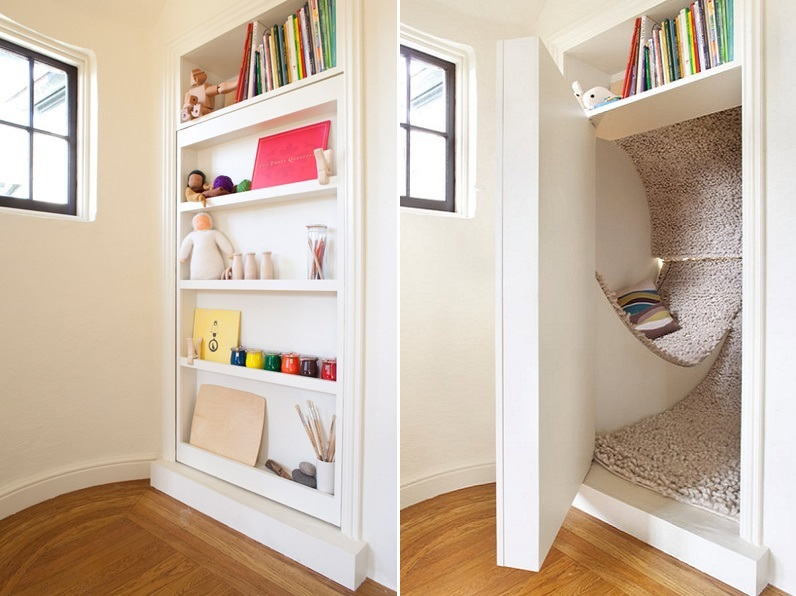 hidden reading nook
