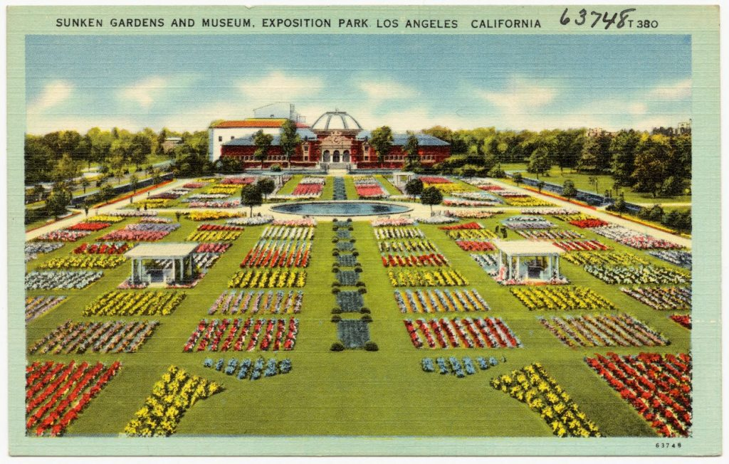 los angeles exposition park