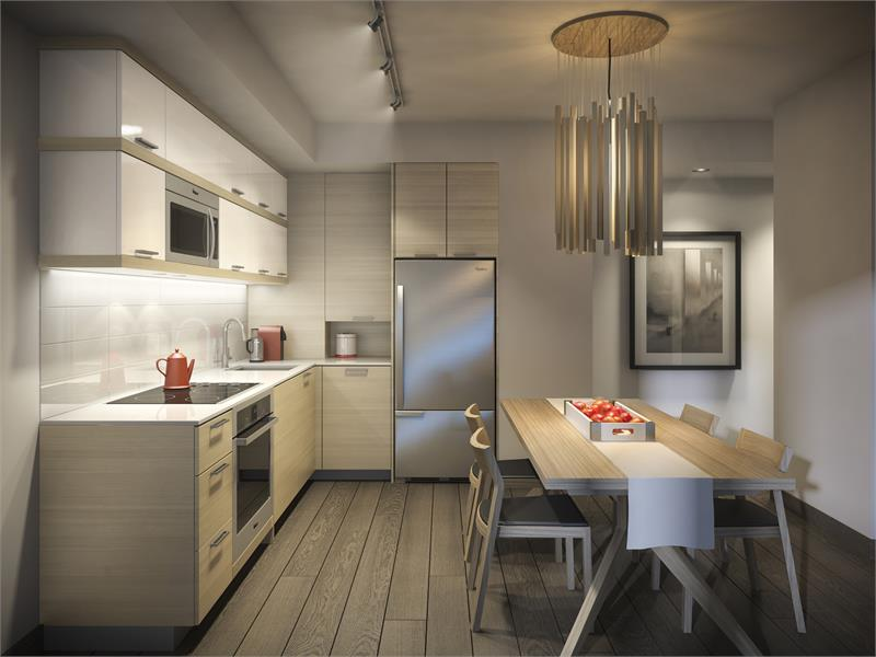 ravine kitchen rendering