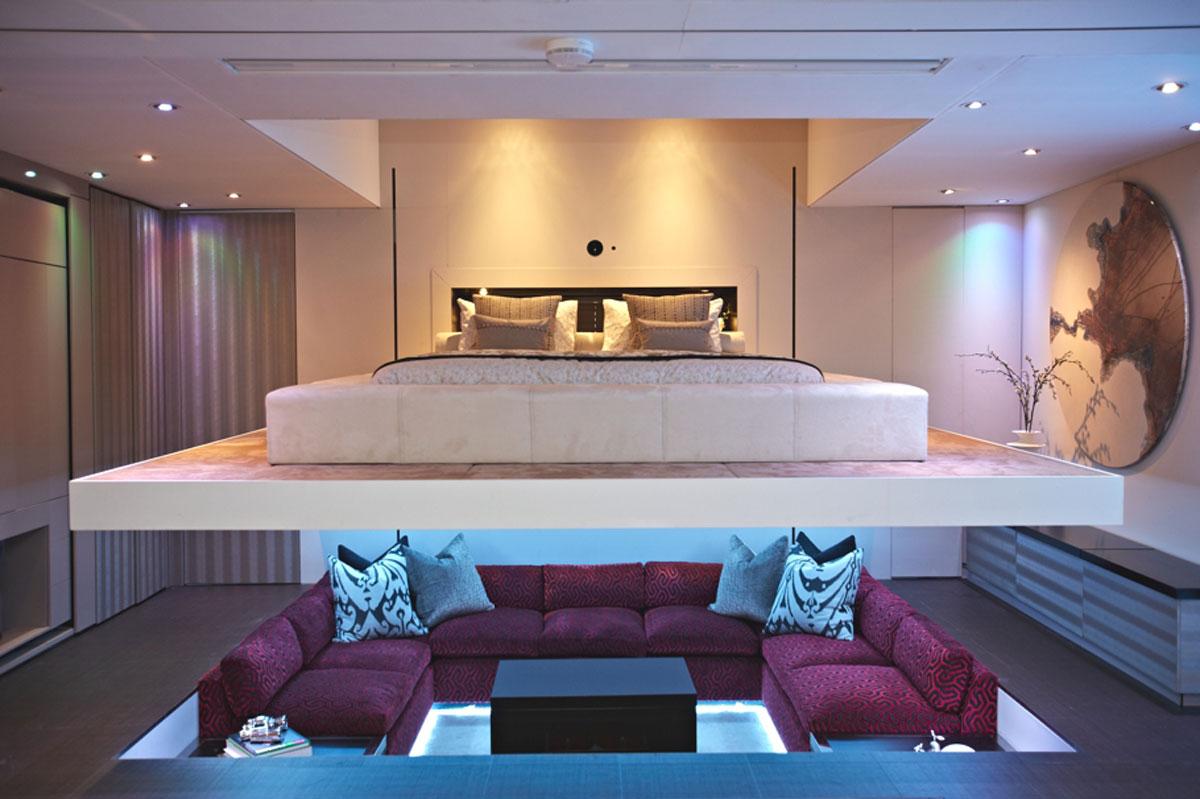 retractable bedroom