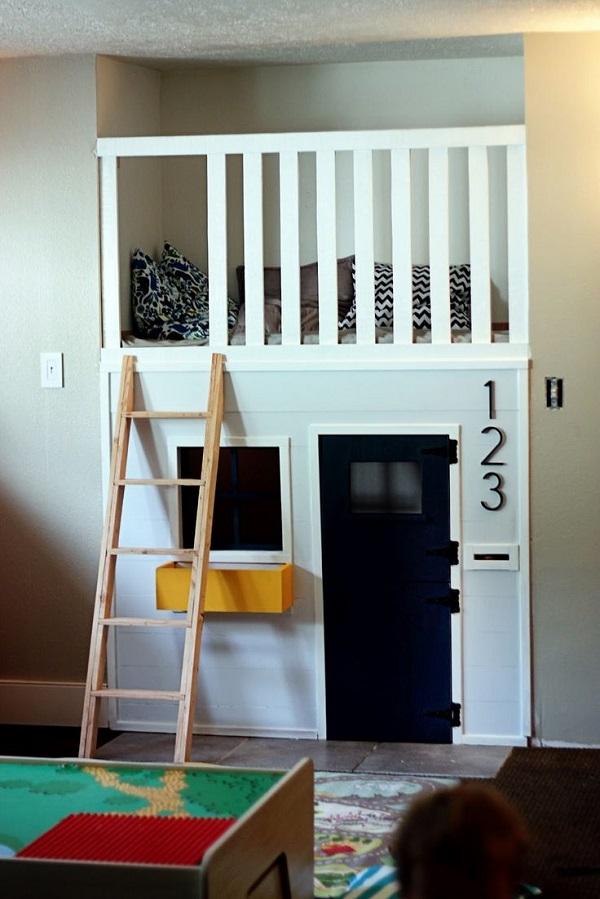 unused closet kids space