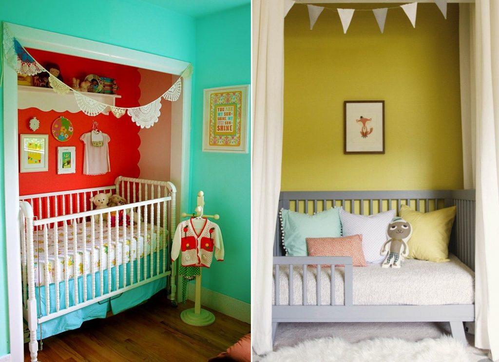 unused closet nursery