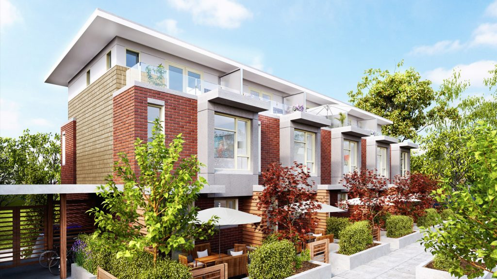 Bennett Townhomes Vancouver