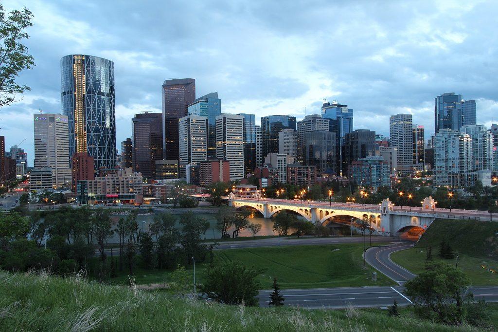Calgary Skyline 2013