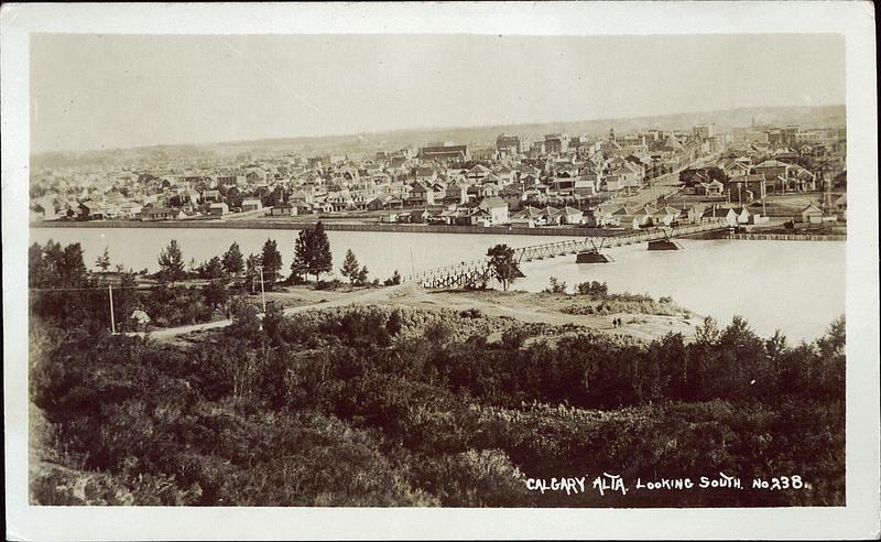 Calgary historic 1912