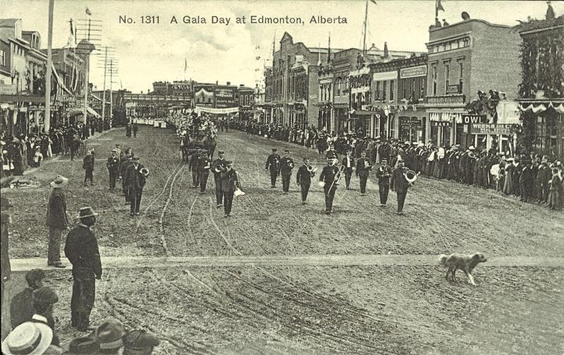 Edmonton parade