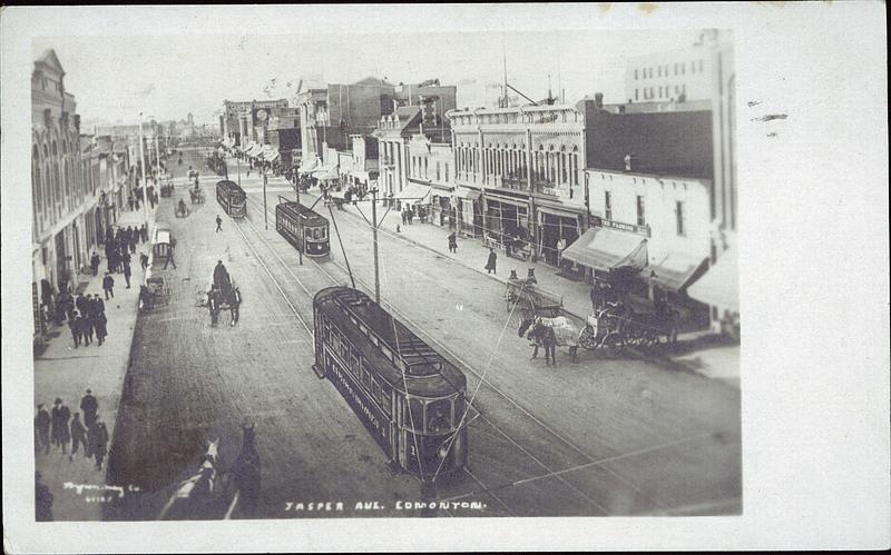 Jasper Avenue Streetcar