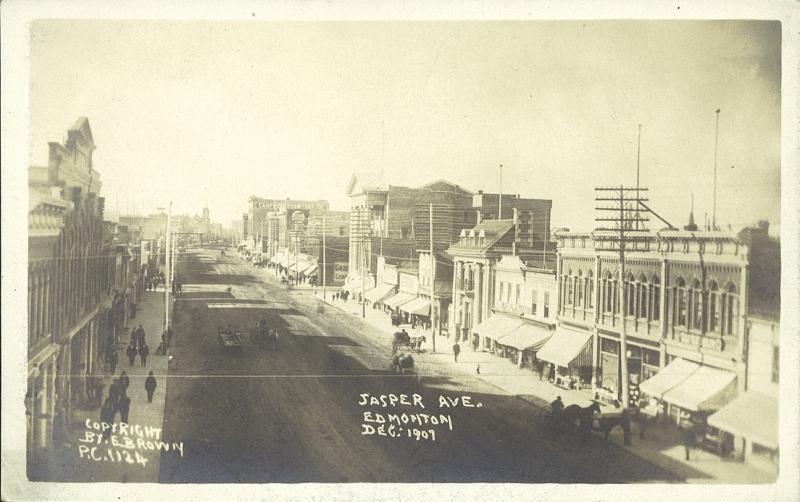 Jasper Avenue Edmonton