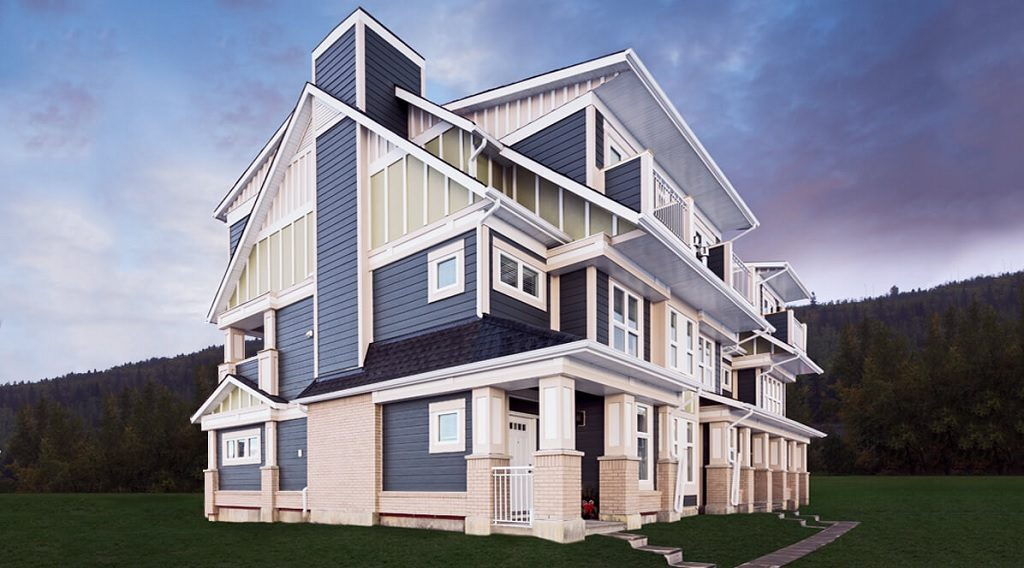 Hunter House townhomes