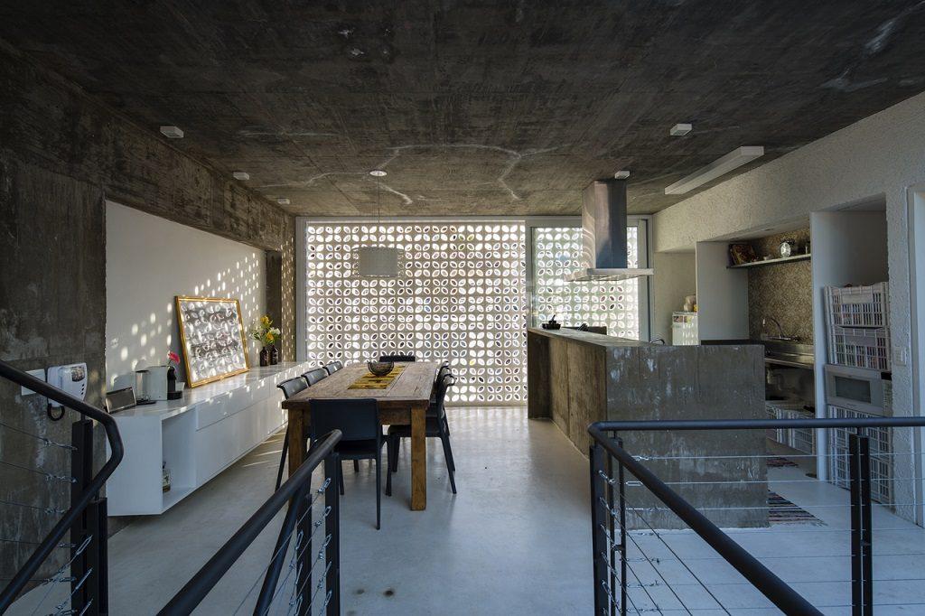 concrete kitchen sao paulo