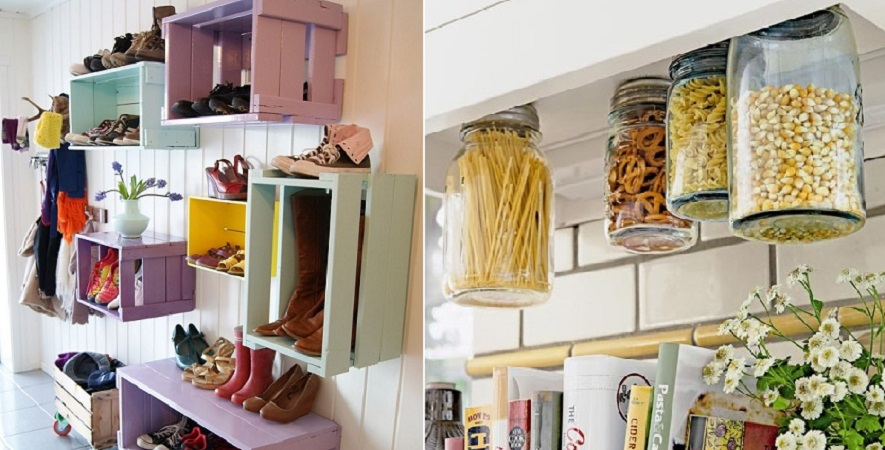 25 creative storage solutions for your cluttered home