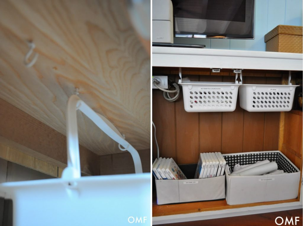 hanging bin storage & 25 creative storage solutions for your cluttered home