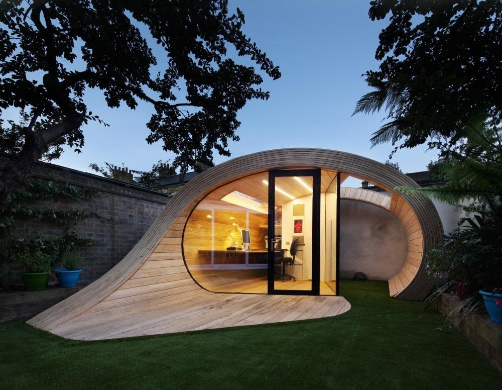 home office backyard