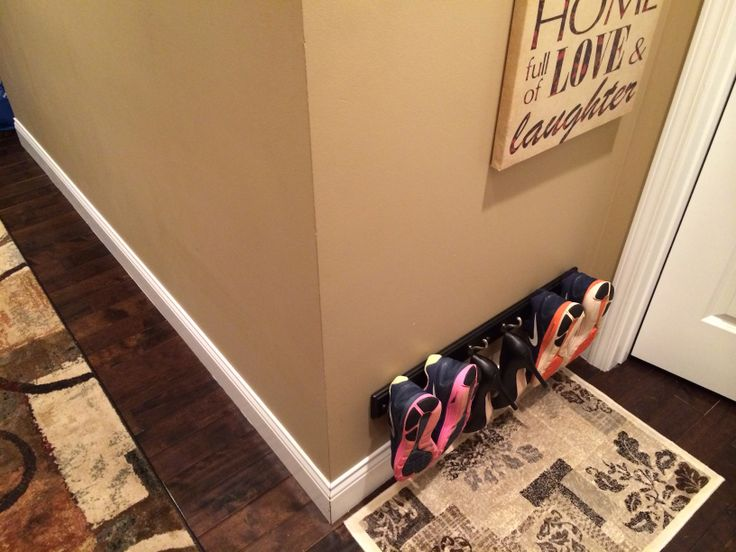 storage coat rack shoe organizer