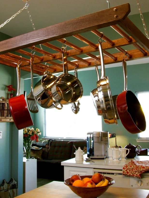 storage hanging pots
