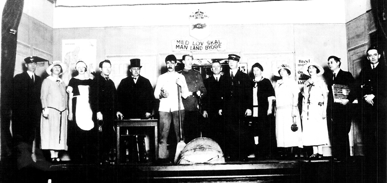 Danish Group Washington Hall Seattle