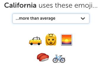 California emoji