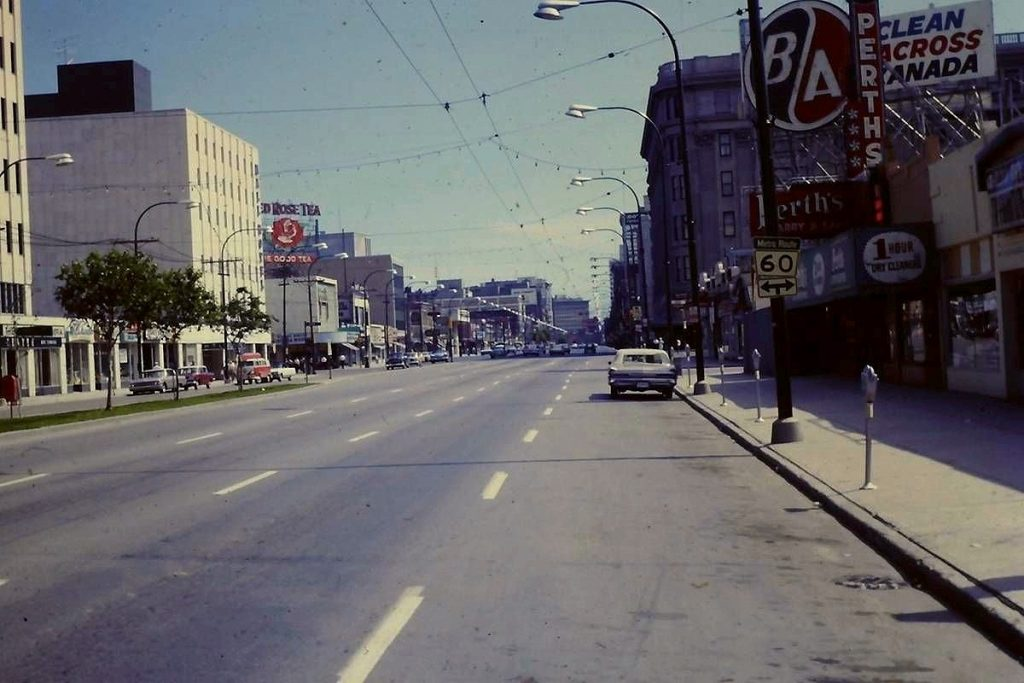 Winnipeg downtown 1960s