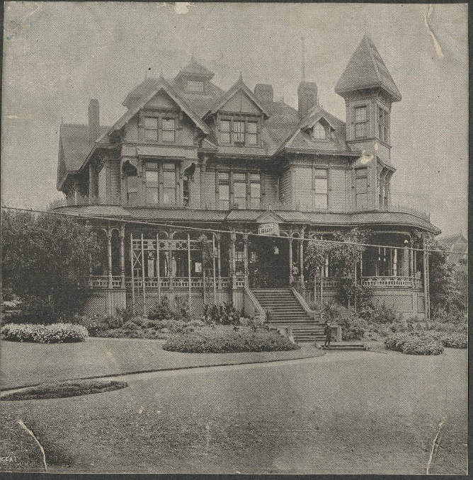 Yesler Mansion seattle libary
