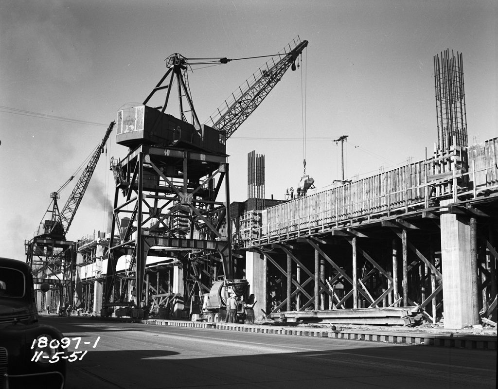 alaskan way viaduct 1951