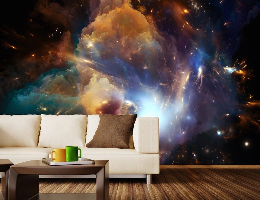 cosmos wall mural
