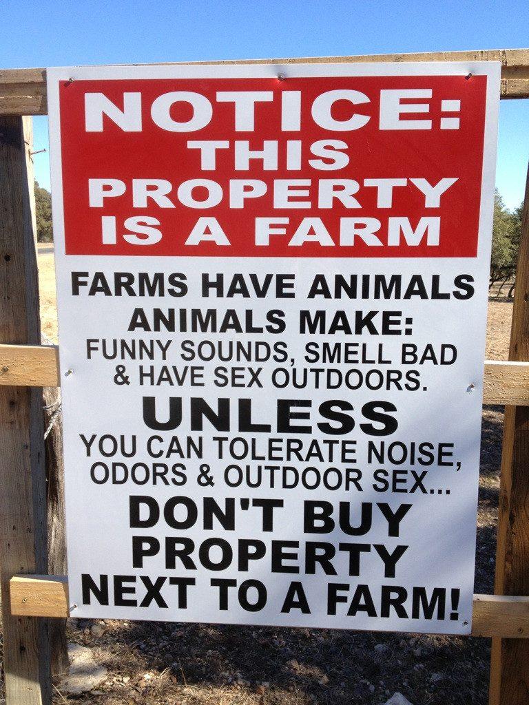 honest real estate sign 6