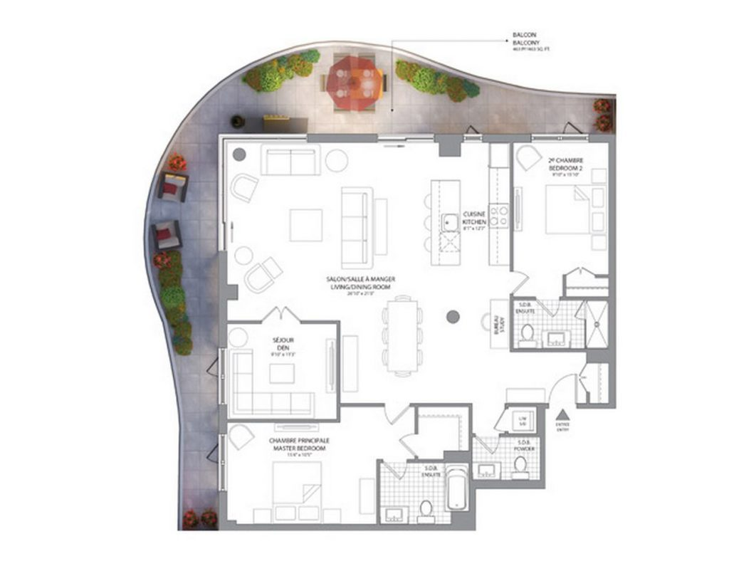 peterson floorplan