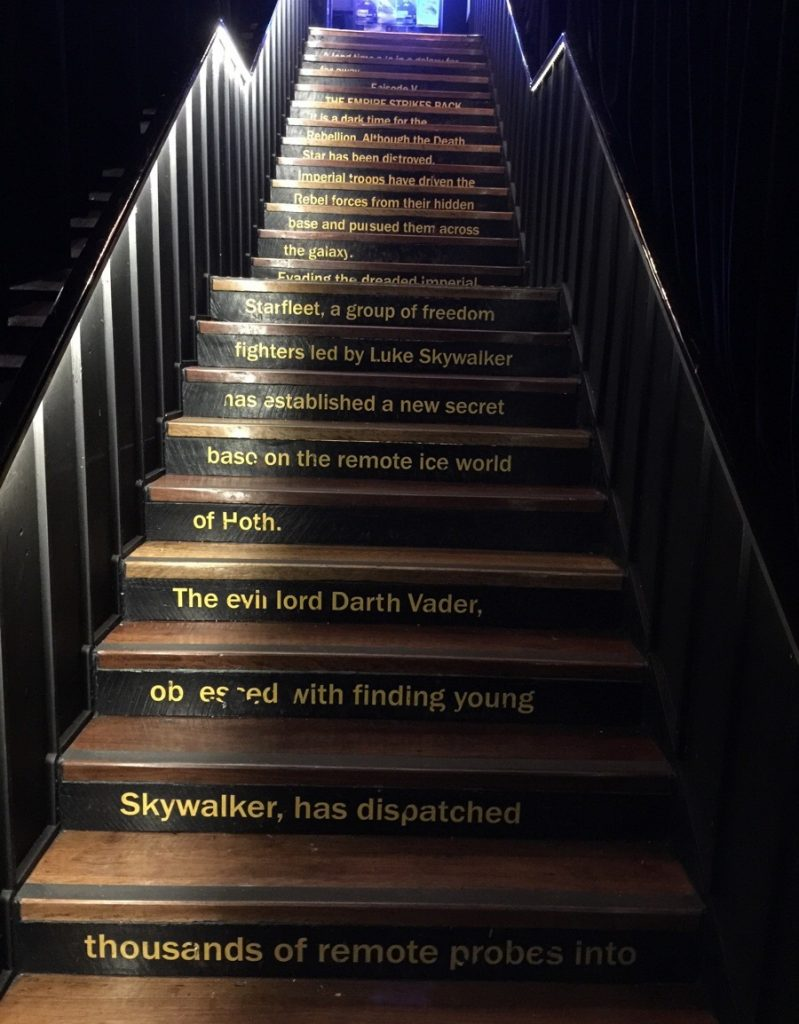star wars staircase