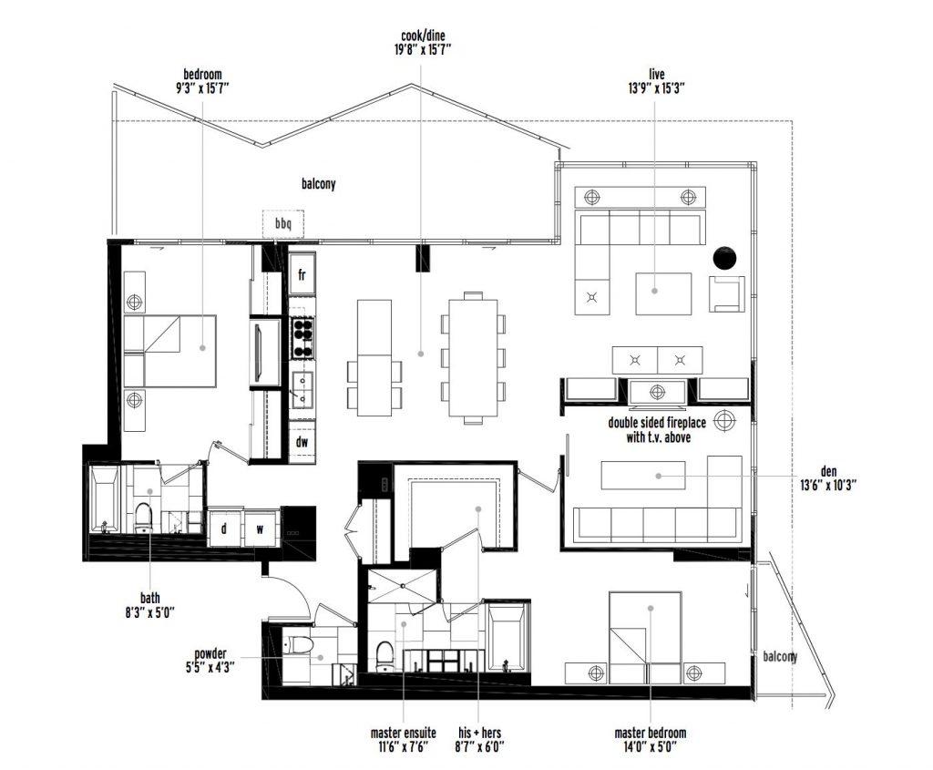 verve floorplan