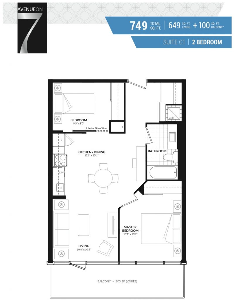 Avenueon7ModelFloorplan