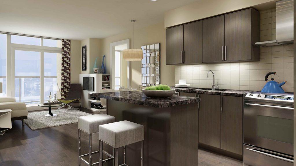 Pemberton-Vivid Suite Rendering Kitchen
