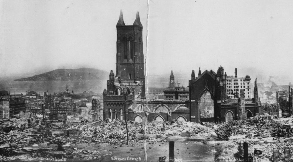 San Francisco 1906 earthquake 1