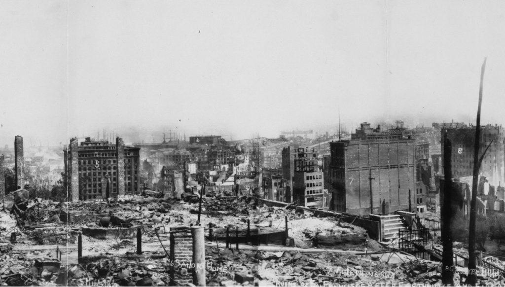 San Francisco 1906 earthquake 2
