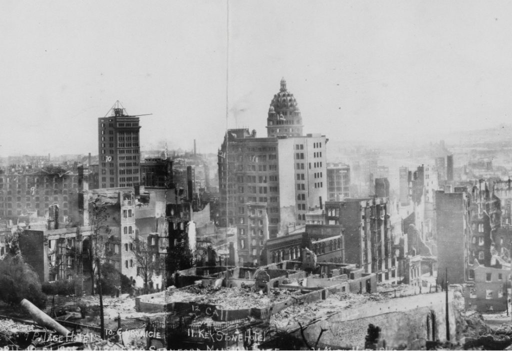 San Francisco 1906 earthquake 3