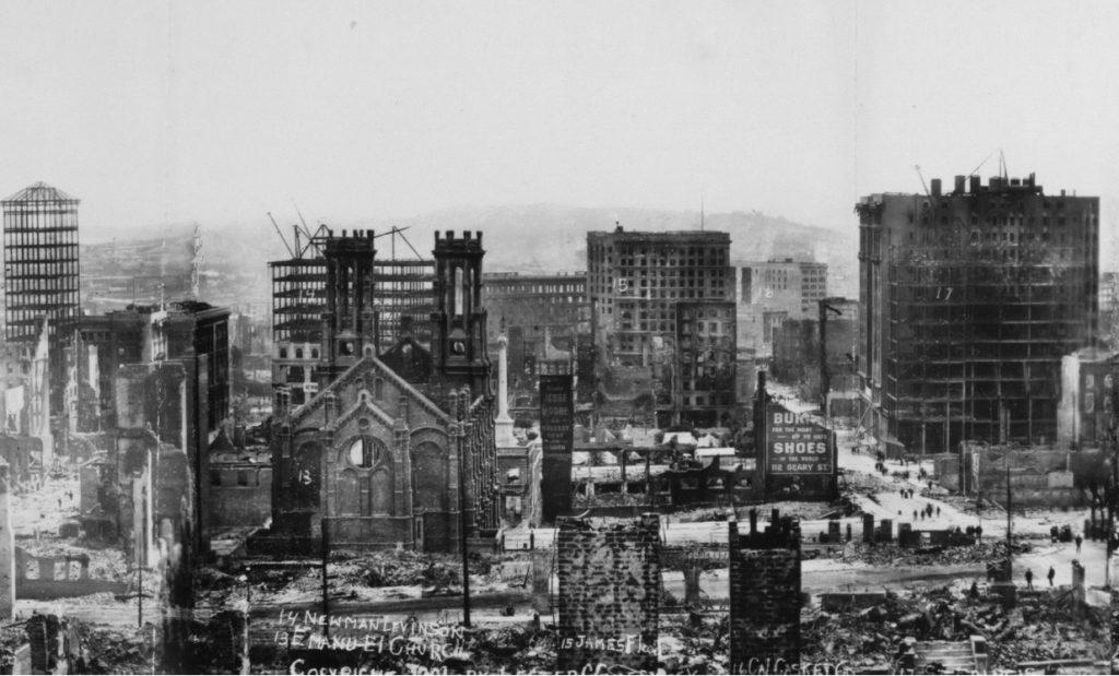 San Francisco 1906 earthquake 4