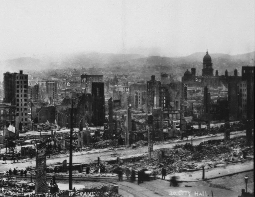 San Francisco 1906 earthquake 5