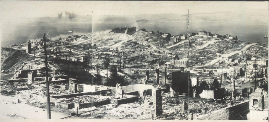 San Francisco 1906 earthquake damage 1