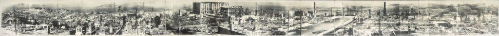 San Francisco 1906 earthquake damage