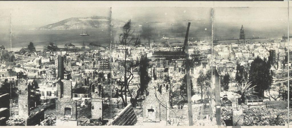 San Francisco 1906 earthquake damage 2