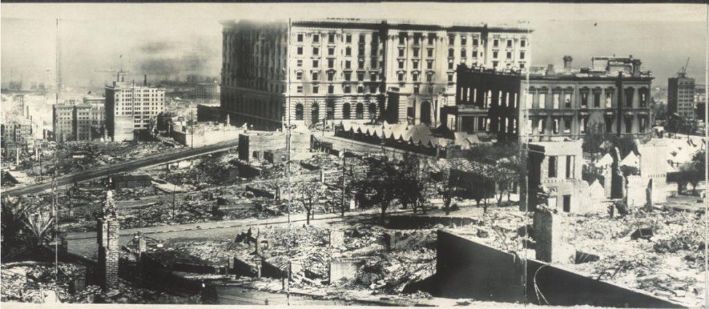 San Francisco 1906 earthquake damage 3