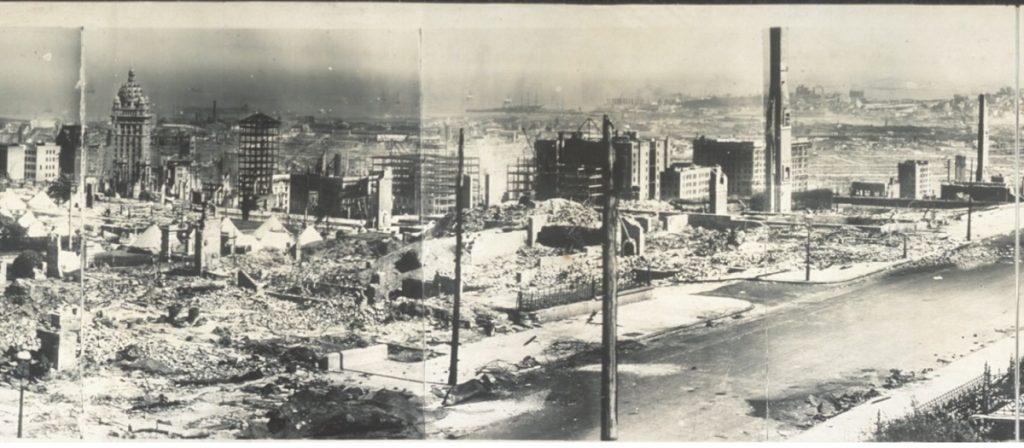 San Francisco 1906 earthquake damage 4