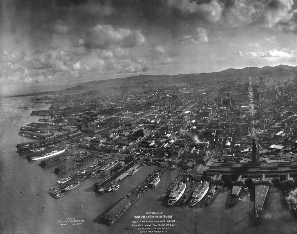 San Francisco earthquake 1