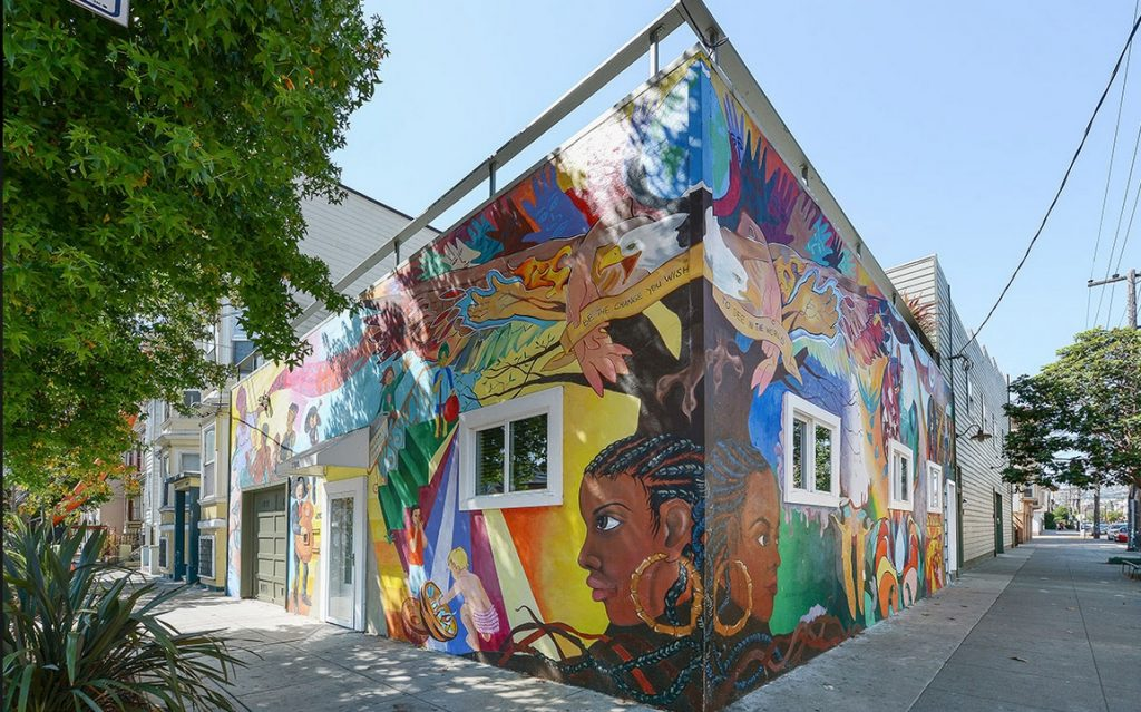 San Francisco mural home 1