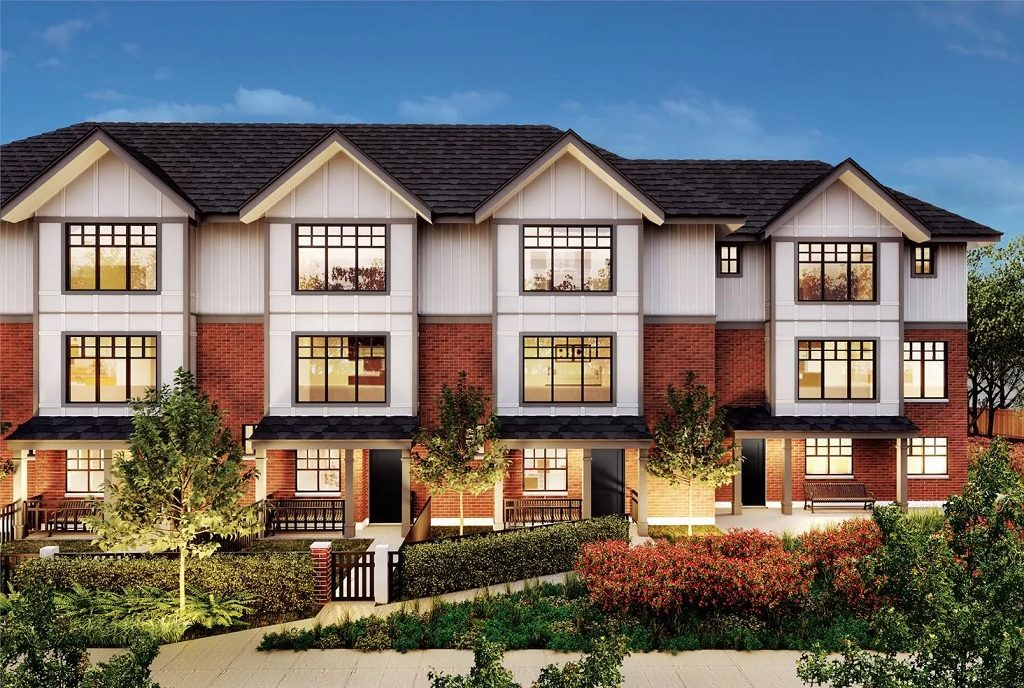 Savile Row burnaby homes