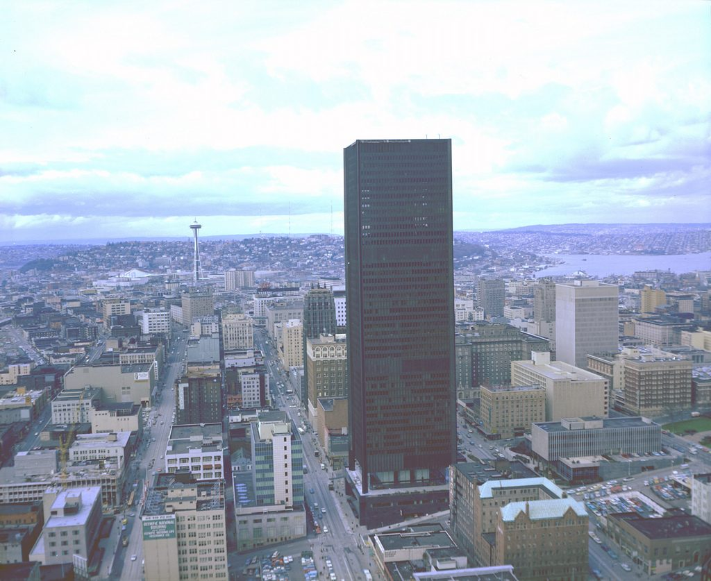 Seattle tallest building - Safeco Plaza 2