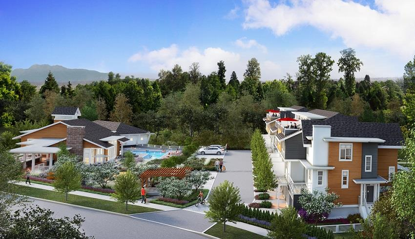 South Ridge Club Surrey townhomes 2
